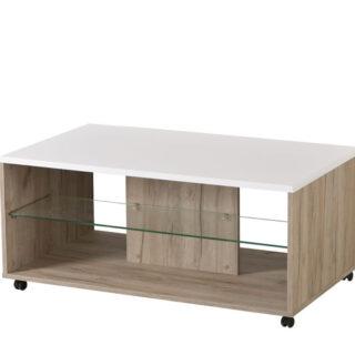 Klub stol Bert - sivi hrast