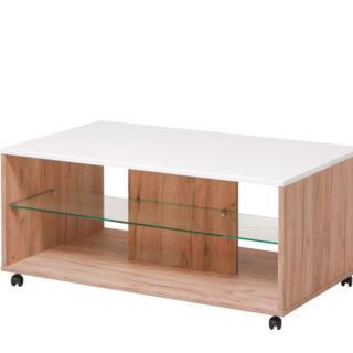 Klub stol Bert - zlatni hrast
